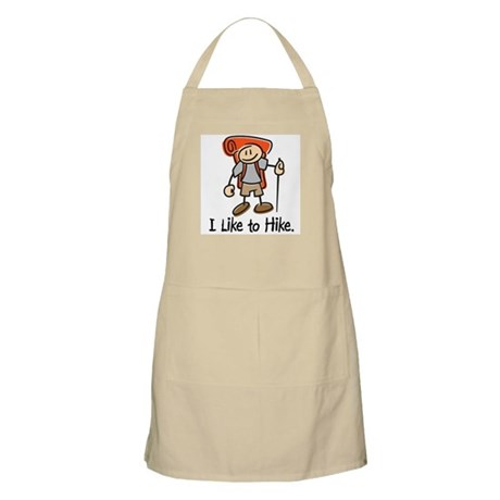 I Like To Hike (Orange) BBQ Apron