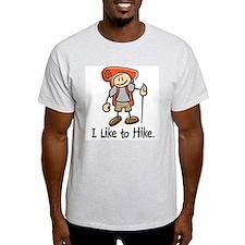 I Like To Hike (Orange) T-Shirt