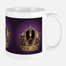 Purple Emperor King Crown Mug