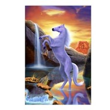 Wild Horse Fantasy Postcards (Package of 8)