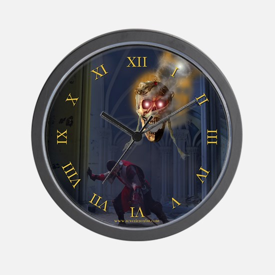 Wrath of the Lich Queen Wall Clock