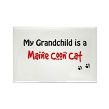 Maine Coon Grandchild Rectangle Magnet