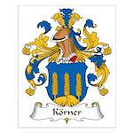 Korner Family Crest Small Poster