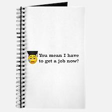 Get a Job Graduation Journal