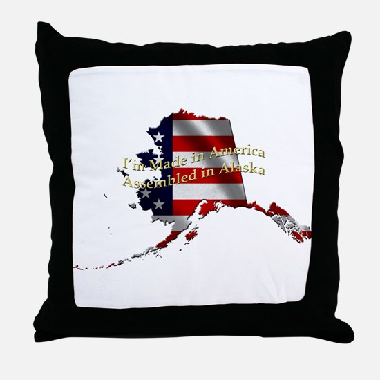 Cute Red state Throw Pillow
