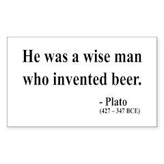 Plato 24 Rectangle Decal