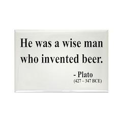 Plato 24 Rectangle Magnet