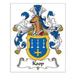 Koop Family Crest Small Poster