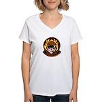 G.H.O.S.T Area 51 Women's V-Neck T-Shirt