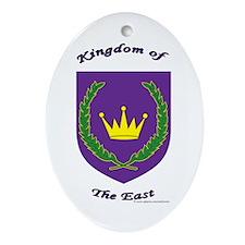 East kingdom Oval Ornament