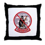 DEA Redrum Throw Pillow