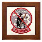DEA Redrum Framed Tile