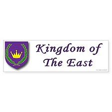 Kingdom of the East Bumper Sticker