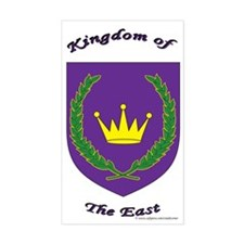 Kingdom of the East Rectangle Decal