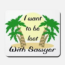 Lost With Sawyer (2) Mousepad