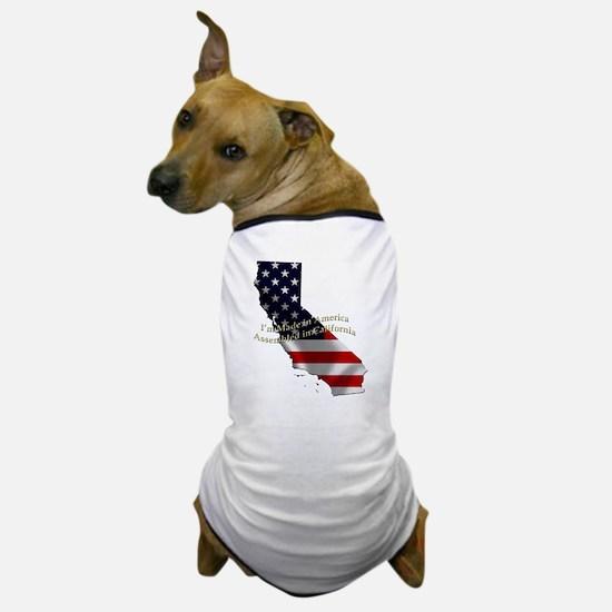 Unique Made california Dog T-Shirt