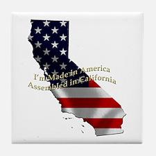 Unique Made in california Tile Coaster