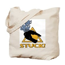 halo - stuck! DOUBLE SIDED Tote Bag