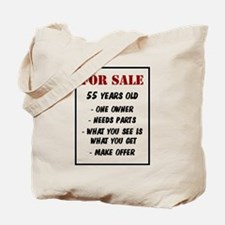 For Sale 55 Years Old Tote Bag
