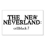 The New Neverland Rectangle Sticker
