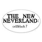 The New Neverland Oval Sticker