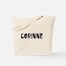Corinne Faded (Black) Tote Bag