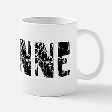 Corinne Faded (Black) Small Small Mug