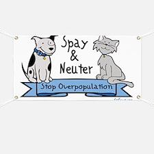 Stop Overpopulation Banner
