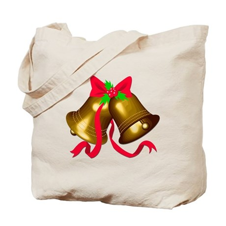 Christmas Bells 2 Tote Bag