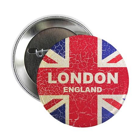 """UNION JACK LONDON 2.25"""" Button (100 pack)"""