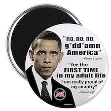"""Obama Associations 2.25"""" Magnet (10 pack)"""