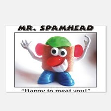 Spamhead 1 Postcards (Package of 8)
