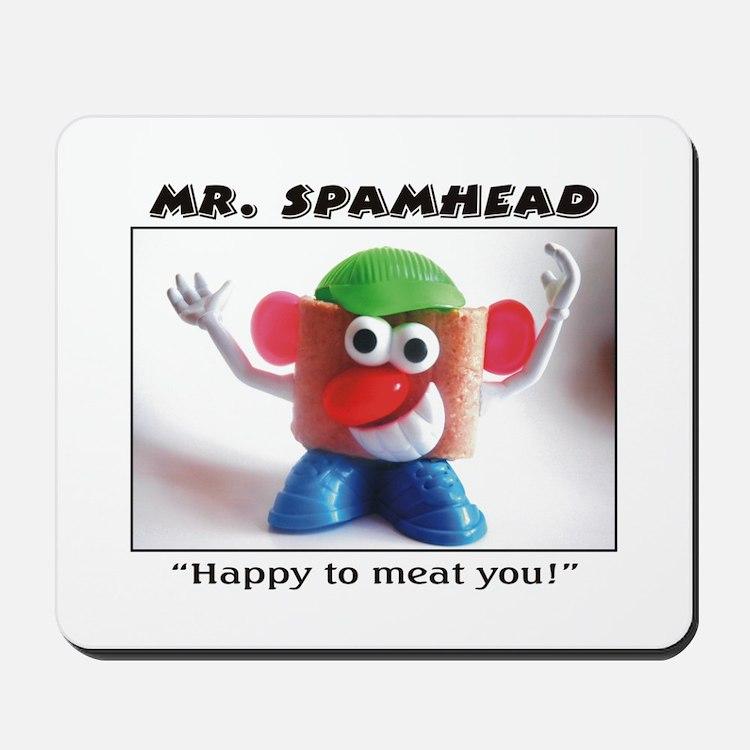 Spamhead 1 Mousepad