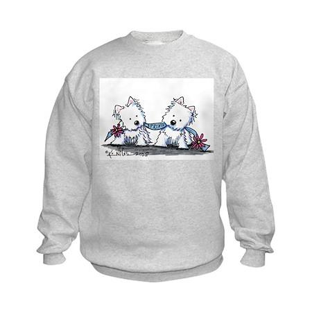 Welcome Spring Duo Kids Sweatshirt