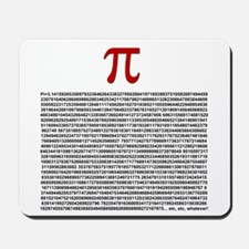 Pi = 3.1415926535897932384626 Mousepad