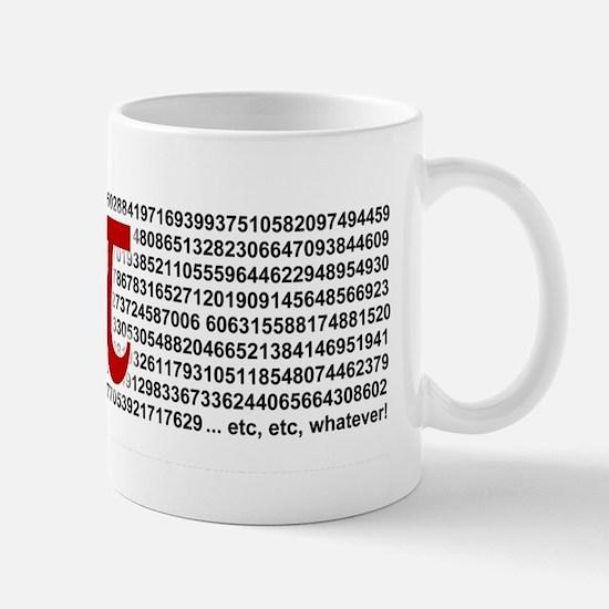 Pi = 3.1415926535897932384626 Mug