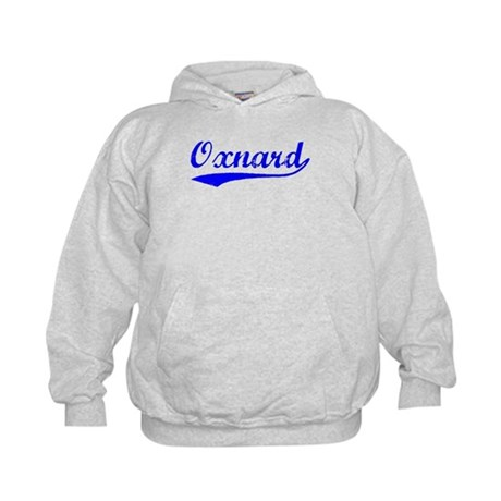 Vintage Oxnard (Blue) Kids Hoodie