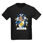 Kleinhans Family Crest Kids Dark T-Shirt