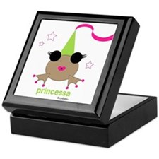 puertorican PRINCESS coqui Keepsake Box