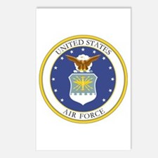USAF Coat of Arms Postcards (Package of 8)
