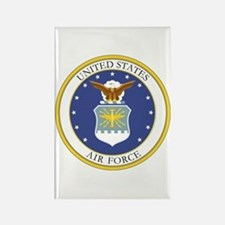 USAF Coat of Arms Rectangle Magnet