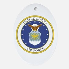 USAF Coat of Arms Oval Ornament
