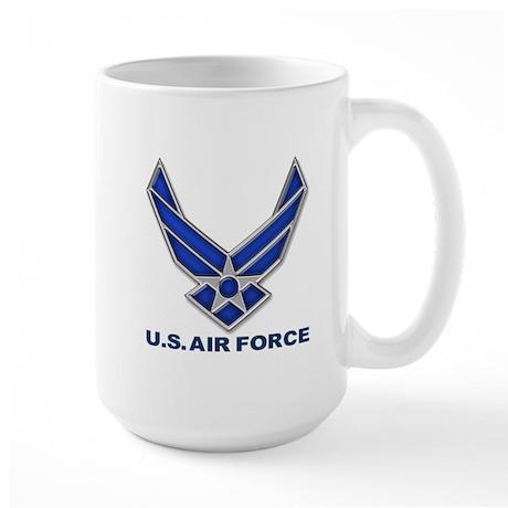 USAF 3 Diamond Symbol Large Mug