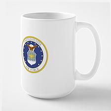 USAF Coat of Arms Large Mug