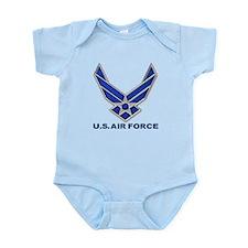 USAF 3 Diamond Symbol Infant Bodysuit