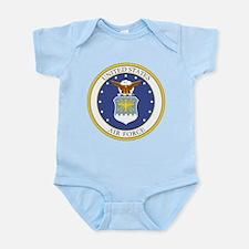 USAF Coat of Arms Infant Bodysuit