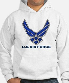USAF 3 Diamond Symbol Jumper Hoody