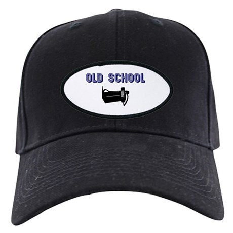 Old Cell Phone Black Cap