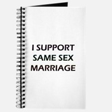 I Support Same Sex Marriage Journal