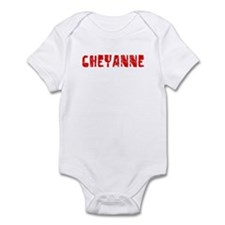 Cheyanne Faded (Red) Infant Bodysuit